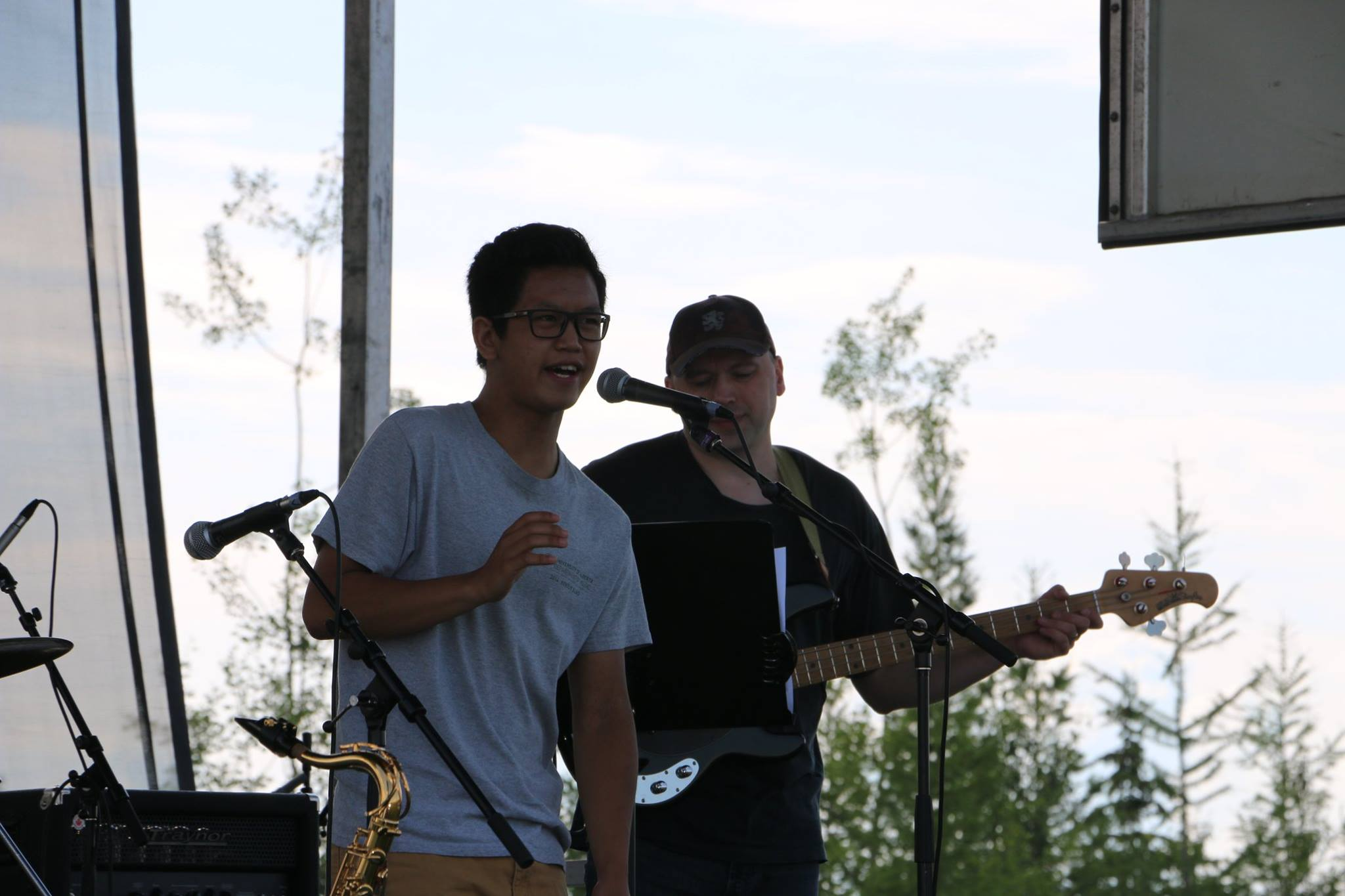 Playing for Canada Day – July1st